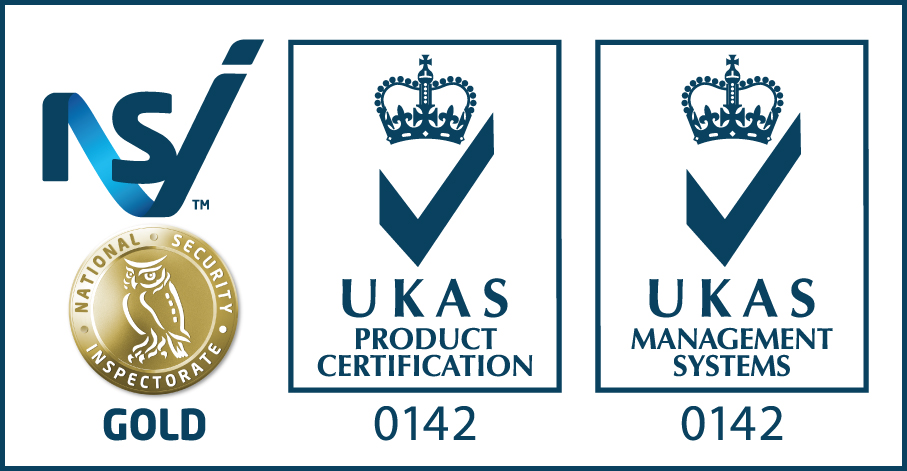 National Security Inspectorate UKAS Product Certification 0142 and UKAS Management System 0142 Gold